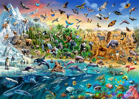 endangered species wall mural wallsauce