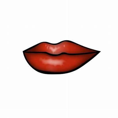 Clipart Lips Mouth Transparent Kiss Clip Outline