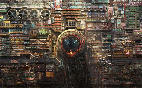 futuristic cyberpunk digital art hd artist  wallpapers