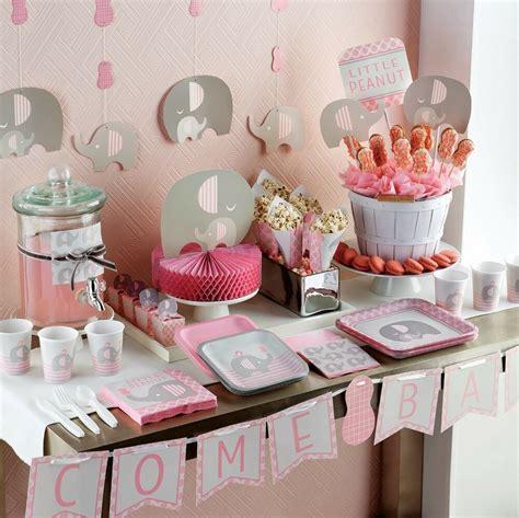 peanut  girl baby shower party range tableware