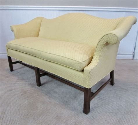 Camel Back Loveseat by Camel Back Sofa Hump Back Loveseat Mahogany