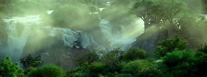 Nature Gifs Amazing Waterfall Incredible Above Natural
