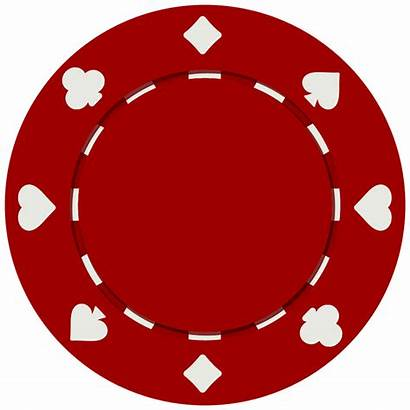 Chip Clipart Poker Clip Template Clipground Line