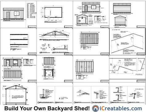 free shed blueprints 16 215 20 pdf does anyone a 10 no1pdfplans diyshedplans