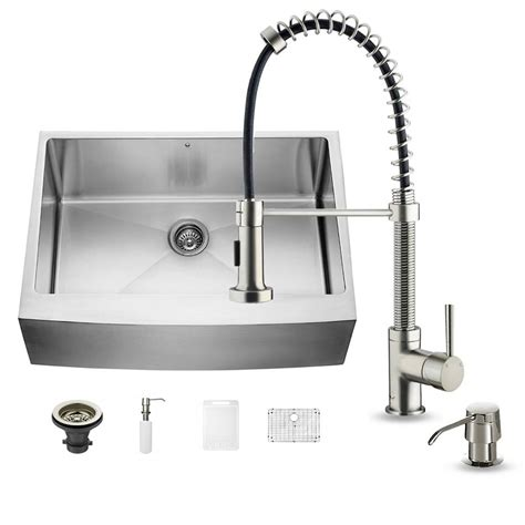 kitchen sink price silver pull out kitchen faucet single 2836