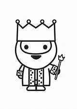 King Coloring Pages Printable sketch template