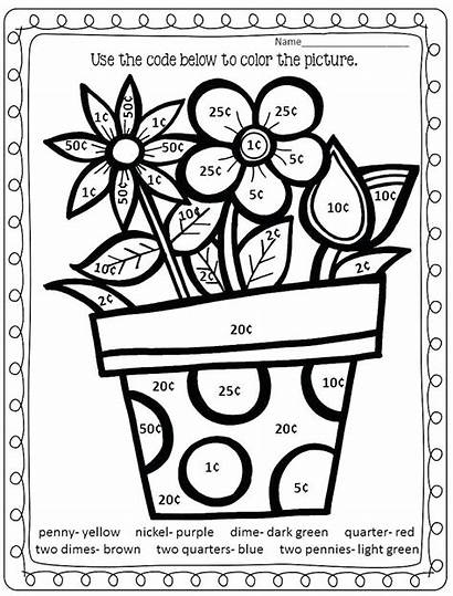 Grade Coloring Second Pages Printable Getcolorings Colorin