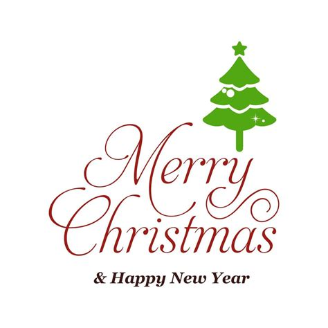 Christmas day and new year both come in winter holidays. Merry Christmas and Happy New Year Graphics SVG Dxf EPS ...