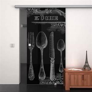 Schiebetür Für Küche : glas schiebet r lackiert mit motiv retro k che 989708482 ~ Eleganceandgraceweddings.com Haus und Dekorationen