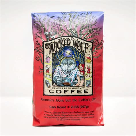 All items and offers listed are the responsibility of wolf coffee limited. 2lb Wicked Wolf® Coffee - Raven's Brew Coffee®