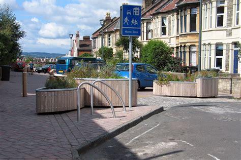 bristol home zone  ordinated street furniture