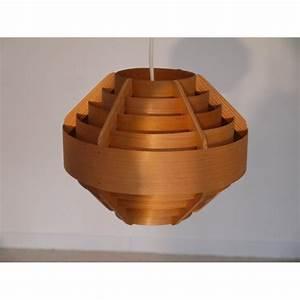 Suspension Bois Scandinave : suspension scandinave vintage en bois design la maison retro ~ Melissatoandfro.com Idées de Décoration