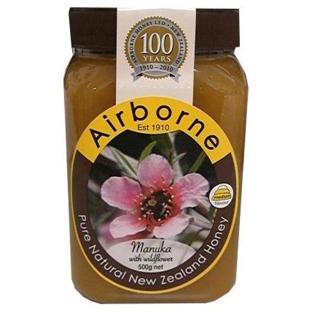 airborne manuka  wildflower honey oz