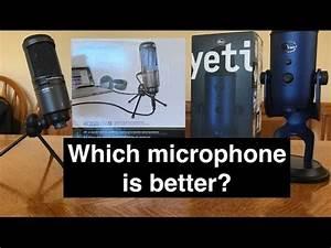 Nt-usb microphone vs blue yeti