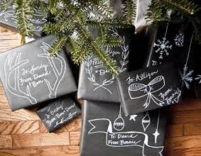 tutorial christmas 39 chalkboard 39 gift wrap going home to