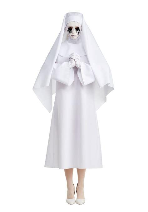 american horror story deluxe  white  costume  women