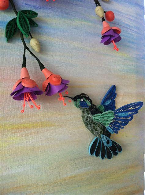 hummingbird paper quilling quilling designs quilling