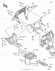 Kawasaki Atv 2016 Oem Parts Diagram For Guard S
