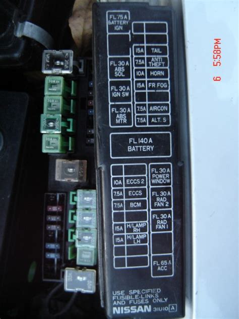 2006 nissan maxima fuse box talk about wiring diagram