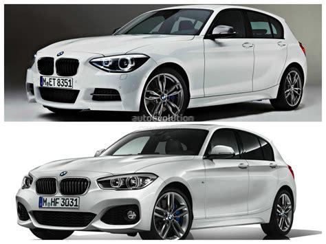 Bmw F20 1 Series Facelift Versus Bmw F20