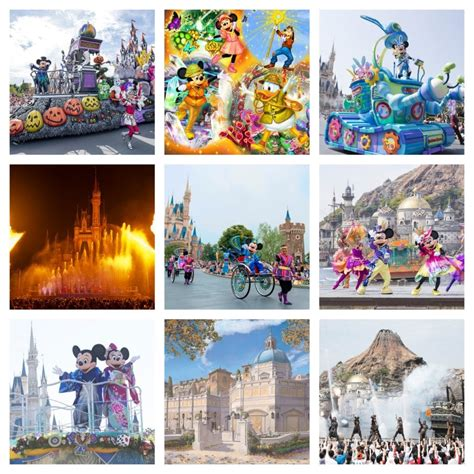 tokyo disney resort announces entertainment schedule march