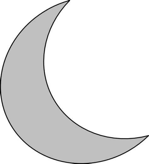 Best Moon Clipart #4534 Clipartioncom