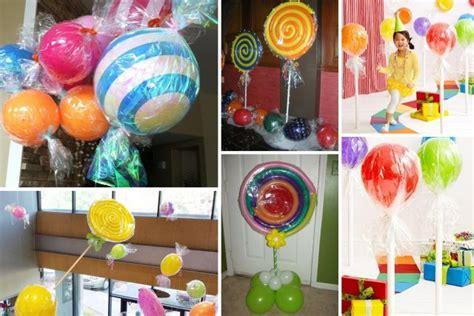 decoration avec des bonbons 14 choses 224 faire avec des ballons gonflables bonbon geant ballon gonflable et d 233 corations de