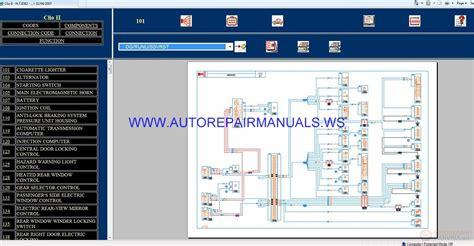 wiring diagram renault clio 2007 renault clio ii x65 nt8382 disk wiring diagrams manual 02 04 2007 auto repair manual