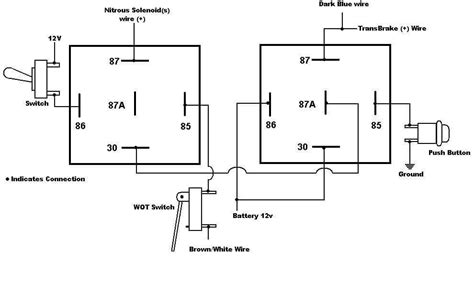 2 step nitrous latching relay 7531 holley