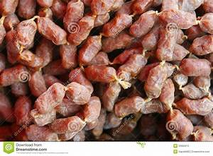Wild Boar Mini Sausages Stock Photos - Image: 33965613