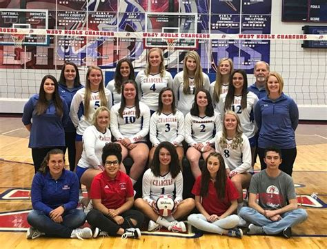 west noble high school girls varsity volleyball fall schedule