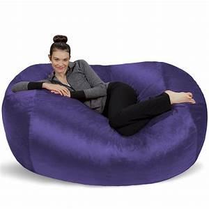 sofa, sack, 6, ft, large, bean, bag, lounger, -, walmart, com