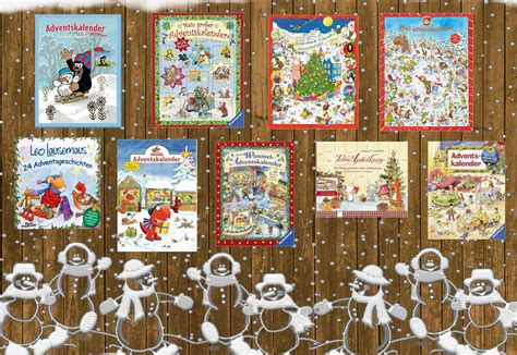 Adventskalender mit 24 Mini-Büchern - Kinderbuchlesen.de