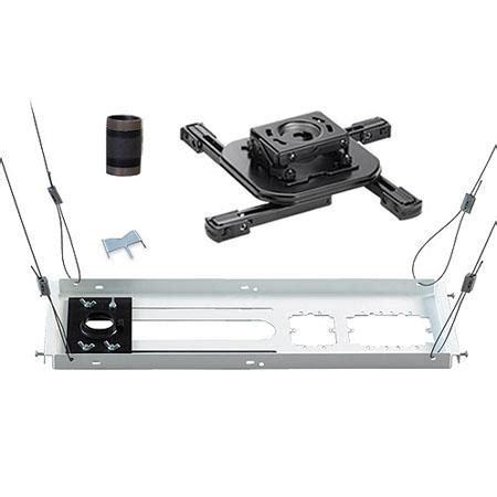 chief kitas003 projector ceiling mount kit black kitas003