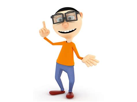 Smart Guy 3d Character