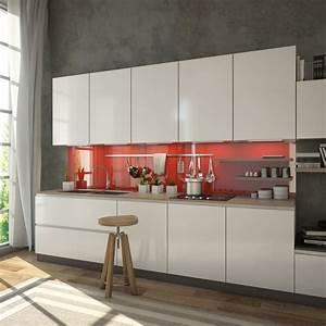 Küchen Wandpaneel Glas : ral 3001 rot signalrot glas k chenr ckwand kaufen ~ Frokenaadalensverden.com Haus und Dekorationen