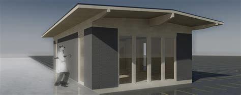 projet d un guichet provisoire pour une gare en r 233 novation 224 bulle suisse container bois