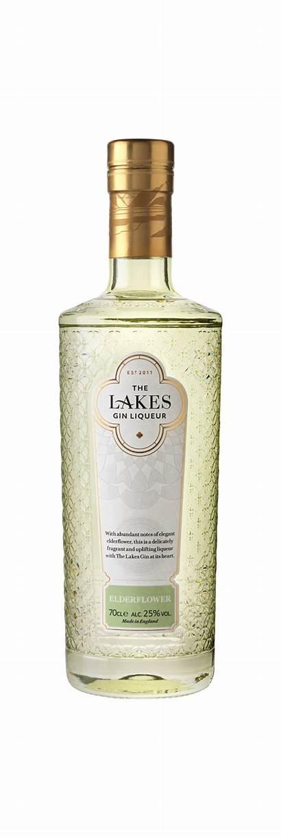Gin Lakes Elderflower Distillery Liqueur Spirits Liqueurs