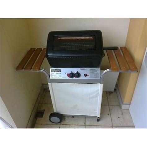 barbecue a gaz de lave florabest fgg 5 5 a1 pas cher