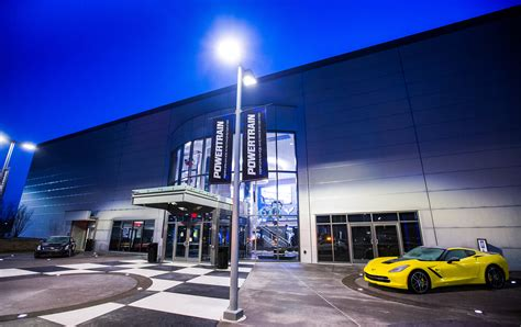 gm inaugurates  performance  racing center
