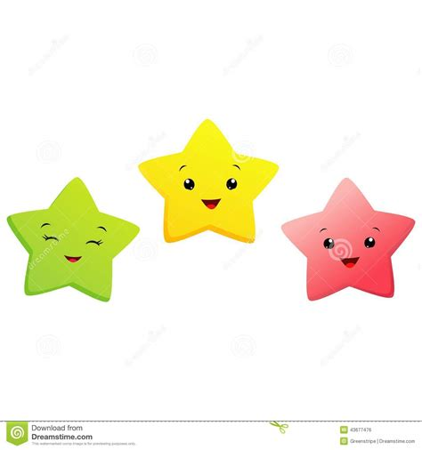Little Stars Stock Vector Illustration Of Cheerful