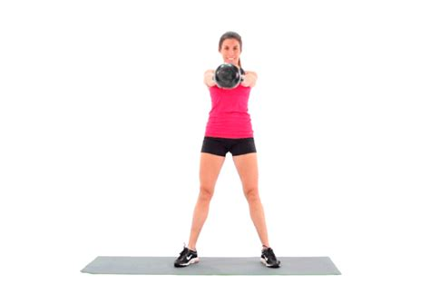 kettlebell swing swings benefits form livestrong swinging exercise woman fitness ls strong