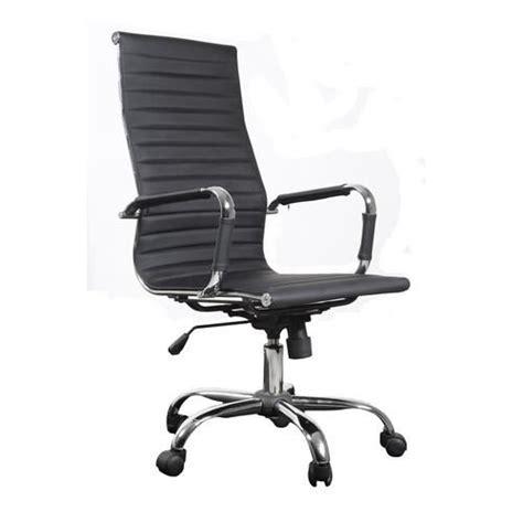 fauteuil bureau sans roulettes chaise bureau design achat vente chaise de bureau noir