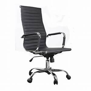 chaise bureau design Achat / Vente chaise de bureau Noir Cdiscount