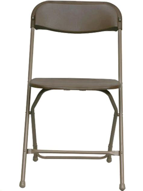 brown plastic folding chair rentals portland or where to