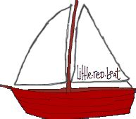 Little Boat Cartoon by The Little Red Boat