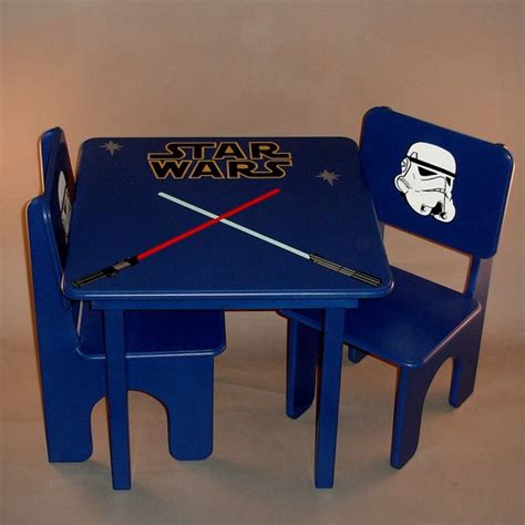 star wars table l star wars table and chair set for kids by