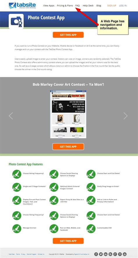 landing pages web pages what s the difference