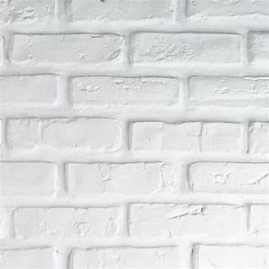 Brique De Parement Blanche : plaquette de parement en pl tre briquette blanche ~ Dailycaller-alerts.com Idées de Décoration