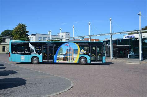 Reisā dosies Dzejas autobuss - Pašvaldības SIA